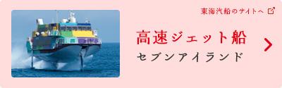 高速ジェット船「セブンアイランド」(東海汽船のサイトへ)